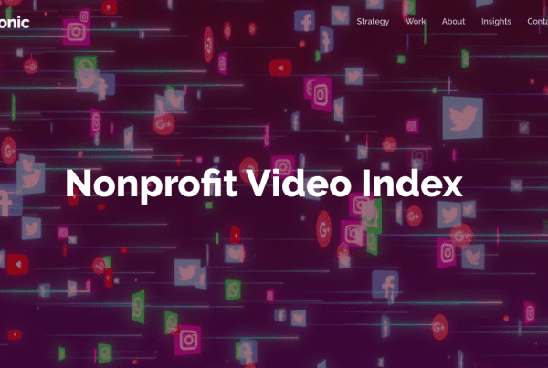 Nonprofit Video Index Header Image